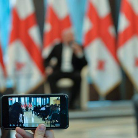 შეხვედრა საქართველოს პრეზიდენტთან